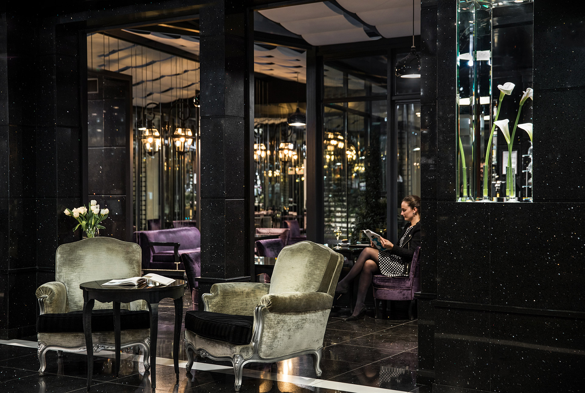 Maison Albar Hotels Le Diamond lobby luxury hotel